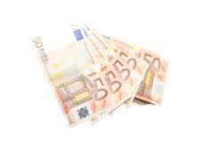 Euro bills Royalty Free Stock Images