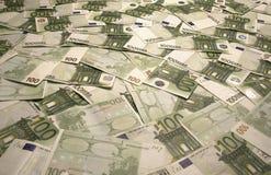 Euro Bills. A Background of Euro bills Royalty Free Stock Photo