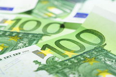 Euro bills Royalty Free Stock Photo