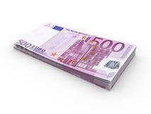 Euro Bills Royalty Free Stock Photography