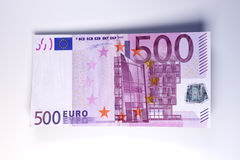Euro Bills. 3D rendered Illustration Royalty Free Stock Photography