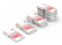 The euro bills Royalty Free Stock Photography