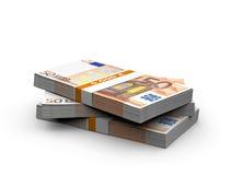 Euro bills Stock Photo