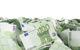 100 euro bills Stock Photography