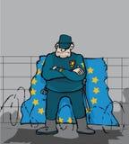 Euro blok Zdjęcia Royalty Free