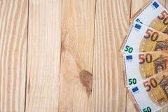 50 euro- cédulas novas Foto de Stock