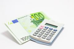 Euro Calculator Stock Fotografie