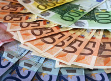 Euro carpet royalty free stock images