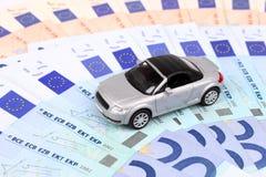 Euro- carro Foto de Stock
