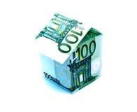 Euro- casa Fotos de Stock