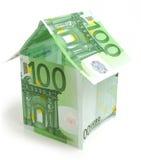 Euro casa Immagini Stock Libere da Diritti