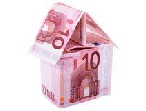Euro casa Fotografie Stock