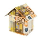 Euro casa Fotografia Stock Libera da Diritti