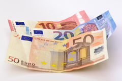Euro cash currency Stock Image