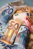 Euro cash Stock Photography