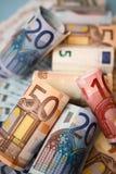 Euro cash Stock Images