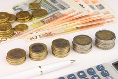 Euro Cash Royalty Free Stock Images