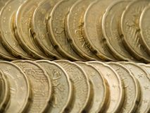 Euro Cent Stock Photography