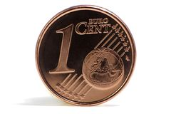 Euro cent Stock Photo