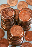 Euro cent Royalty-vrije Stock Fotografie