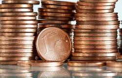 Euro cent Stock Foto's