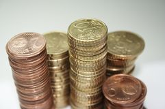 EURO Cent - 2 stock images