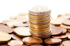 Euro cent Royalty Free Stock Images