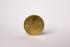 10 Euro Cent Coin Stock Image