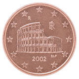 Euro cent coin Royalty Free Stock Photo