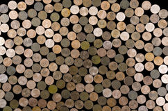 Euro-cent coins Stock Image