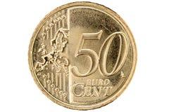 Euro cent vijftig Stock Fotografie