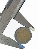 Euro- centavo Foto de Stock Royalty Free