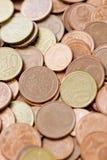Euro centesimi Immagine Stock Libera da Diritti