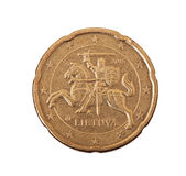 Euro centesimi Fotografie Stock