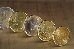Euro (centesimo) immagine stock