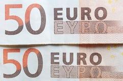 Euro centesimo Immagini Stock