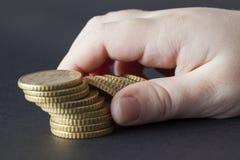 Euro cents photos libres de droits
