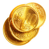 Euro cents Image stock