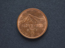 2 Euro centu moneta od Sistani Obraz Stock