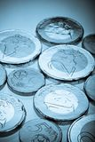 Euro chocolate coins Royalty Free Stock Photography