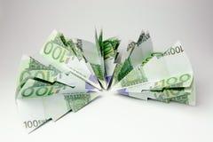 Euro choinki Zdjęcia Stock