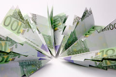 Euro choinki Obrazy Stock