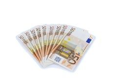 Euro cinquanta Immagine Stock Libera da Diritti