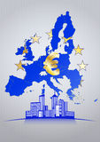 Euro city Stock Images