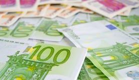 Euro closeup Stock Image