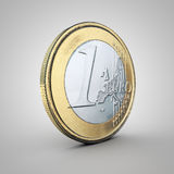 Euro coin Royalty Free Stock Photography