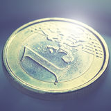 Euro coin Stock Photography