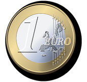 Euro, Coin, Currency, Europe, Money Stock Photo