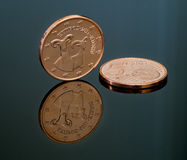 Euro coin, Cyprus Stock Photos