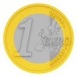 The euro coin Stock Photo